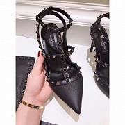 Чёрные туфли Valentino с шипами в продаже в modnitca доставка из г.Москва