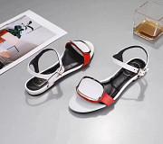Белые сандали Roger Vivier в наличии в modnitca лето 2018 доставка из г.Москва