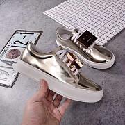 Acne Studios Adrian кеды унисекс металлическое серебро в modnitca доставка из г.Санкт-Петербург