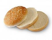 Булочка для Гамбургера 100 мм тройная с кунжутом Москва