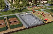 Строительство спортивных, игровых и детских площадок. Поставка и уклад Екатеринбург