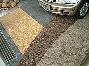 Напольное покрытие каменный пол с использованием кварцевого песка. Мин Екатеринбург