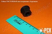 Гайка с буртиком ГОСТ 8918-69 доставка из г.Ростов-на-Дону