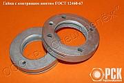 Гайка с контрящим винтом ГОСТ 12460-67 доставка из г.Ростов-на-Дону