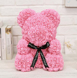 Мишки из роз в подарочной упаковке Волгоград