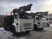 Новые лесовозы Камаз 2019 г.в. с манипуляторами Лизинг Доставка по РФ Санкт-Петербург