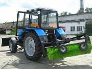 Коммунальный трактор МТЗ-82 (отвал, щётка) Челябинск