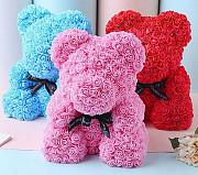 Мишки из роз Москва