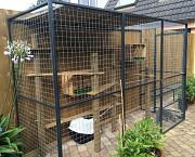 Клетки и вольеры для животных и птиц под заказ Лобня