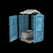 Новая туалетная кабина Ecostyle - экономьте деньги Москва