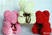 Мишки из роз Екатеринбург