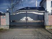 Предлагаем кованые ворота под ключ Санкт-Петербург