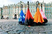 Автоматический умный зонт наоборот Санкт-Петербург