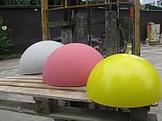 Полусферы бетонные, ограничитель парковки, бетонные столбики для ограждения парковки, стремянки C1 Тюмень