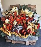 Съедобные букеты, фруктовые букеты, сладкие букеты, мужской букет Тюмень
