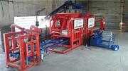 Автоматический вибропресс для производства тротуарной плитки Москва