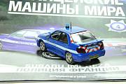 Полицейские машины мира №4 SUBARU IMPREZA. Полиция Франции Липецк