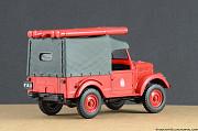Автомобиль на службе №3 Газ-69 ПМГ-20 Липецк