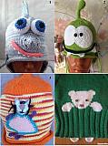 Интересные вязанные шапки Новохоперск