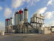 Бетонный завод (бетоносмесительный завод) Москва