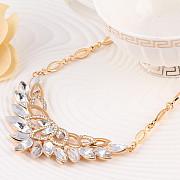 Хрустальный цветок. Ожерелье ювелирных изделий Липецк