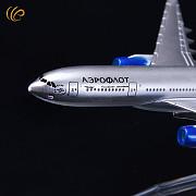 Модель самолёта Аэрофлот Российские Авиалинии Airbus A330 Липецк