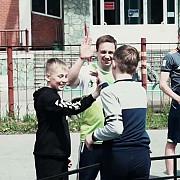 Футбольная школа фристайла в Томске для детей.Freestyle football school Tomsk Томск