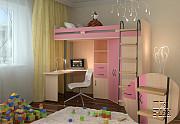 Детская кровать чердак м 85 Москва