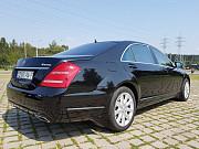 Аренда авто с водителем в Минске. Mercedes W221 S500 Long Москва