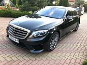 Прокат авто с водителем в Минске. Mercedes W222 Long S500 Москва