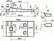 Подкладка Д24 ГОСТ 8142-89 для рельс Р24 б/у и новая Москва