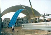 Продам Оборудование для строительства бескаркасных арочных зданий из Китая Москва