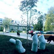 Малаф архитектурная форма - Рука. из фибро бетона Серпухов