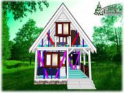 Выстроить каркасный дом коттедж 50 м.кв. в Крыму Симферополь