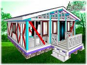 Продам постройку дома 67 м.кв. в Крыму Симферополь