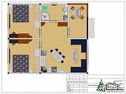 Построим дом коттедж 72 м.кв. в Крыму Симферополь