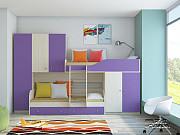 Детская двухъярусная кровать «Лео» Москва