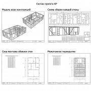 50 готовых проектов каркасных домов Москва