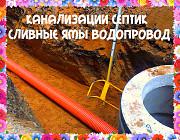 Канализация Воронеж, ремонт канализации Рамонь