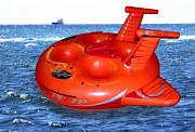 Водный надувной аттракцион Таити 3м Краснодар