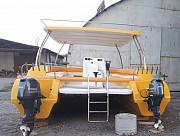 Катамаран Кайман, 8 метров. С площадкой Приморско-Ахтарск
