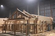 Строительство домов из сухого бревна Санкт-Петербург