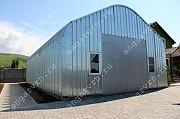Продам бескаркасный арочный быстровозводимый разборный ангар Воронеж