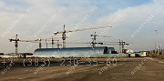Продам бескаркасный арочный быстровозводимый разборный ангар Новосибирск