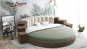 Круглая интерьерная кровать «Донжон» Москва