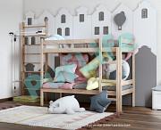 Двухъярусные кровати из массива сосны от производителя Кемерово