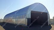 Продам бескаркасный арочный быстровозводимый разборный ангар Саратов
