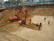 Выкопать котлован в Воронеже, выкапываем котлованы в Воронежской области Новая Усмань