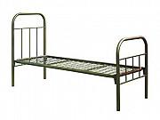 Железные кровати, кровати металлические одоярусные эконом Хабаровск
