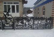 Изготовление ограждений с фигурным рисунком Красноярск